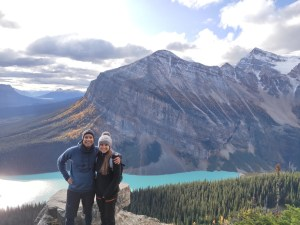 Little Behive Trail: Aussicht auf den Lake Louise