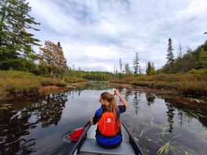 Silent Lake Kanada Kanutour