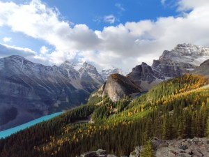 Little Behive Trial bei Lake Louise