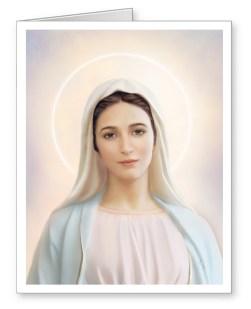 Our Lady of Tihaljina-Medjugorje Note Cards