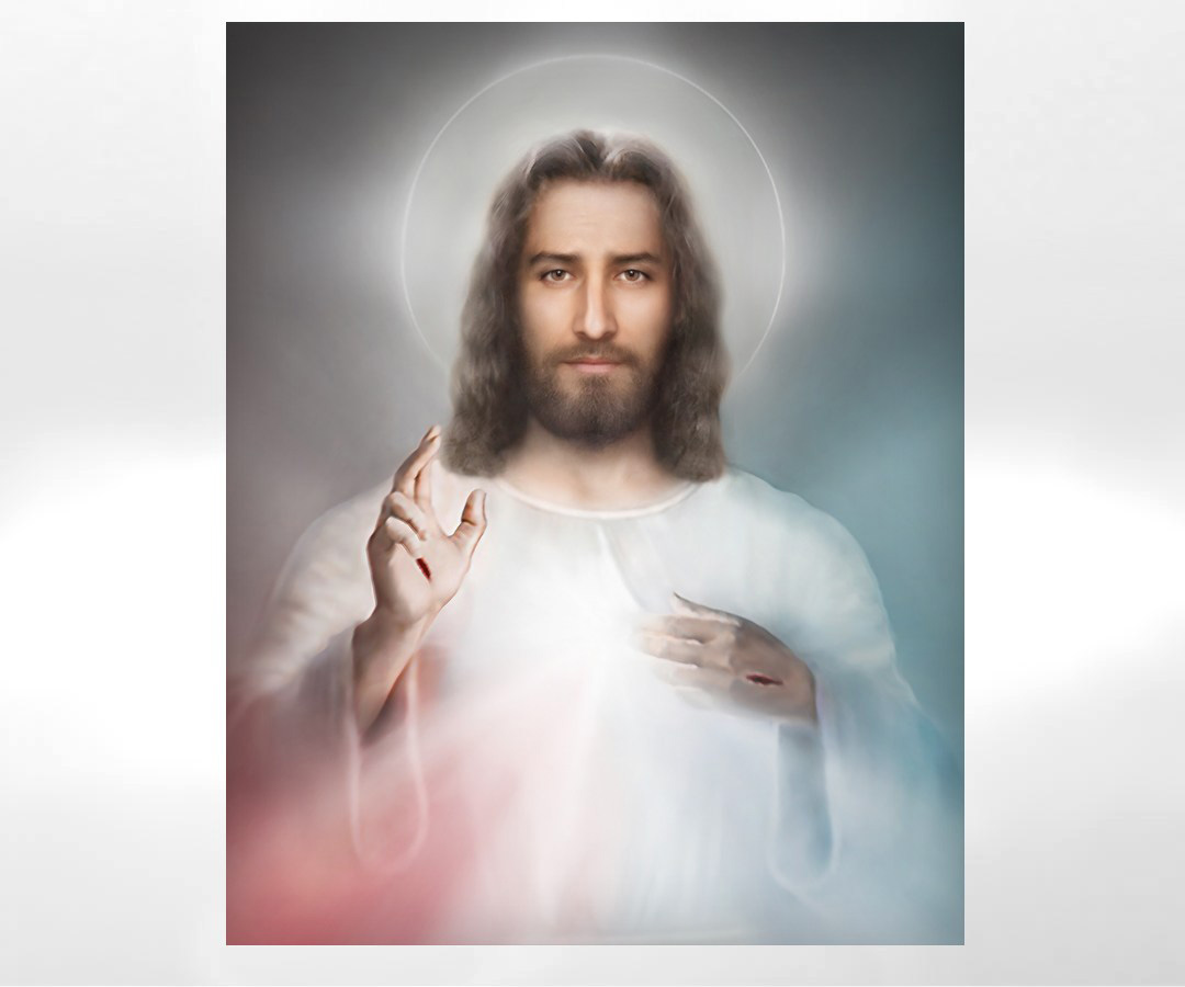 The Divine Mercy Image by Richard L George