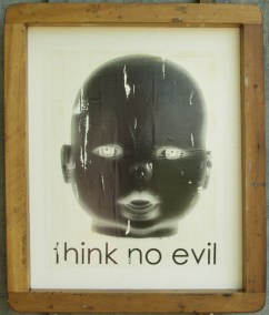 """Think No Evil"" by Artist R.L.Gibson"