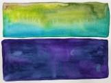 """Midnight Myrtle"" (5""x7"" watercolor on 140lb waterpress) by R.L. Gibson"