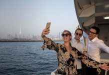 Ferry Service Linking Dubai Shopping Malls.