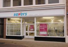 The former Superdrug store is now becoming a Savers.Photo by Geoff Ousbey.