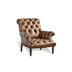 Tufted Chair And Ottoman Used White Covers Club Chairs Ottomans Furniture Products Ralph Lauren Home Ralphlaurenhome Com