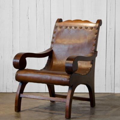 plantation style chairs kids metal 1940 s chair habana maduro finish ottomans furniture products ralph lauren home ralphlaurenhome com