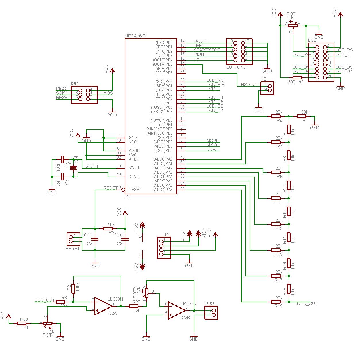 sr7 avr wiring diagram carling dpdt rocker switch dds signal generator v2 part 1 schematic