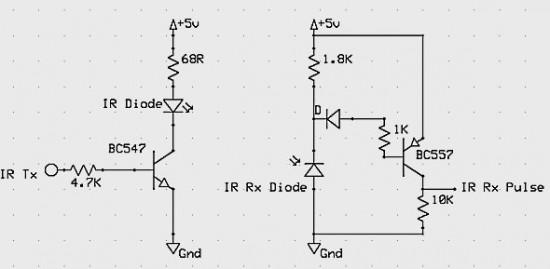 How to make a contact-less digital tachometer using IR