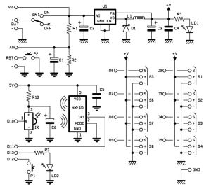 Robot shield for Arduino Part 1  Hardware and Schematic