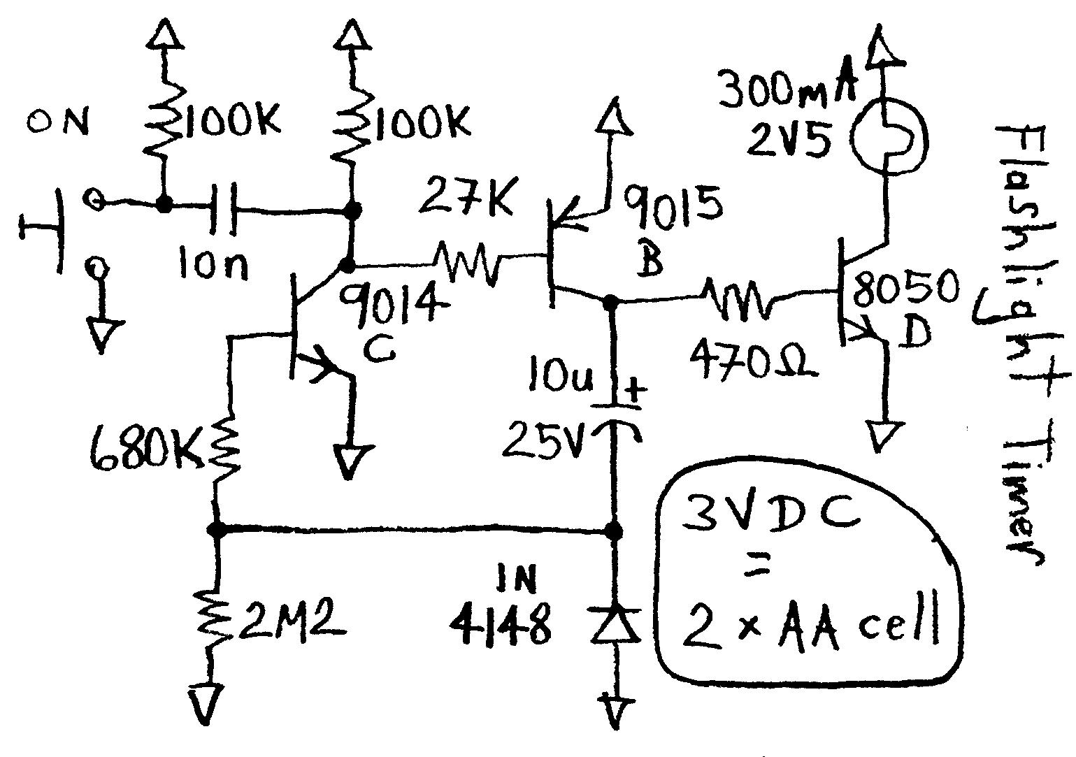 Led Resistor Capacitor Circuit