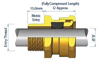 501/421 Hazardous Area Cable Gland