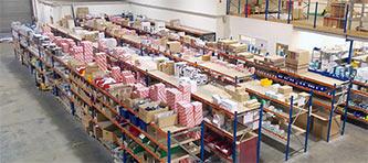 Warehouse at R&M Oxford