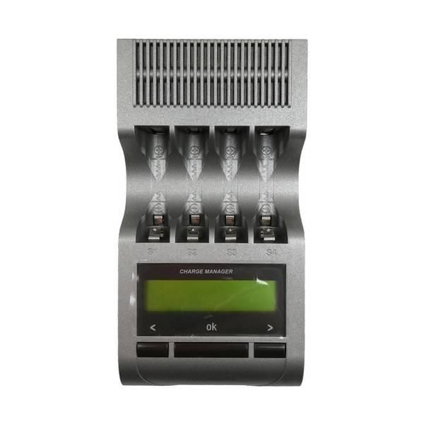 Chargeur grande autonomie 230V pour 4 batteries avec écran LCD