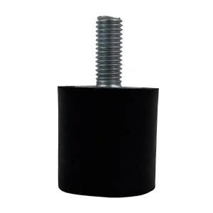 Tampon                        amortisseur cylindrique caoutchouc Ø30 x 30 mm • Tige filetée M8 x 20 mm