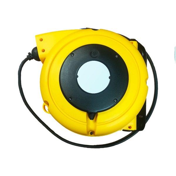 Enrouleur de câble à ressort • Câble 5G1,5 • 9m