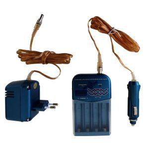 Chargeur standard 230V pour 4 batteries LR06 • AA