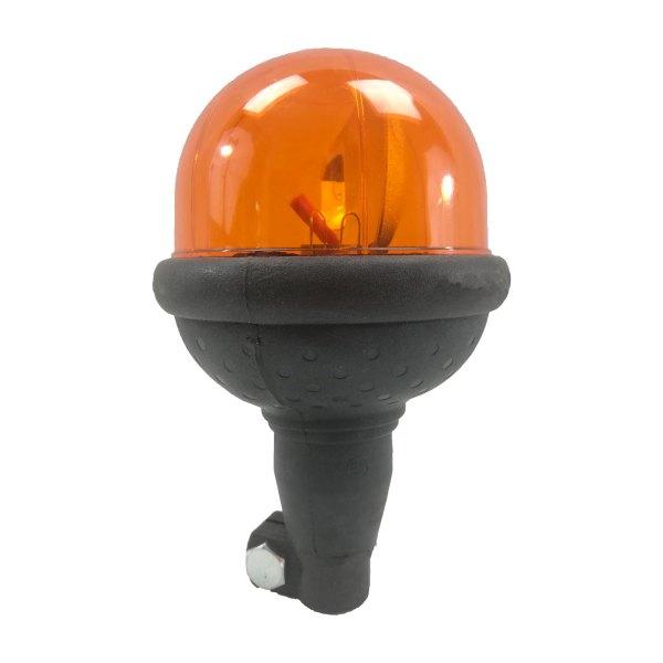 Gyrophare compact orange • Hauteur verrine 90 mm