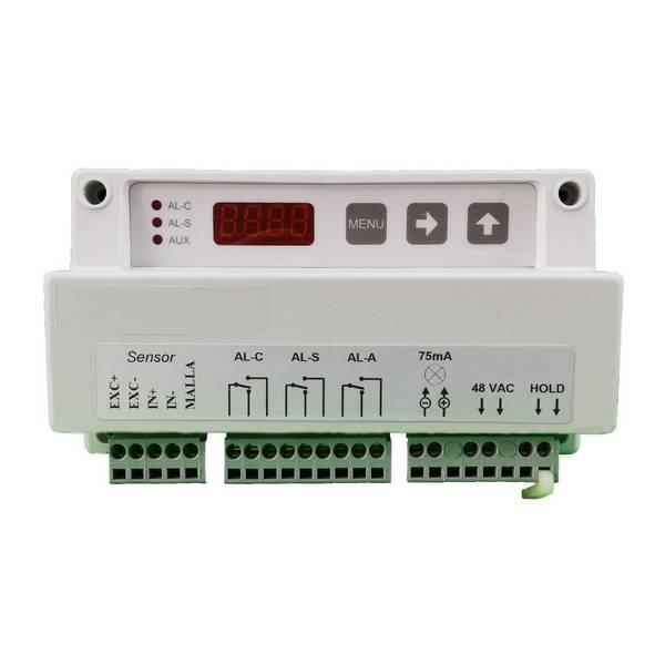 Limiteur de charge électronique (Boîtier électronique) 3 limites configurables • 230 VAC