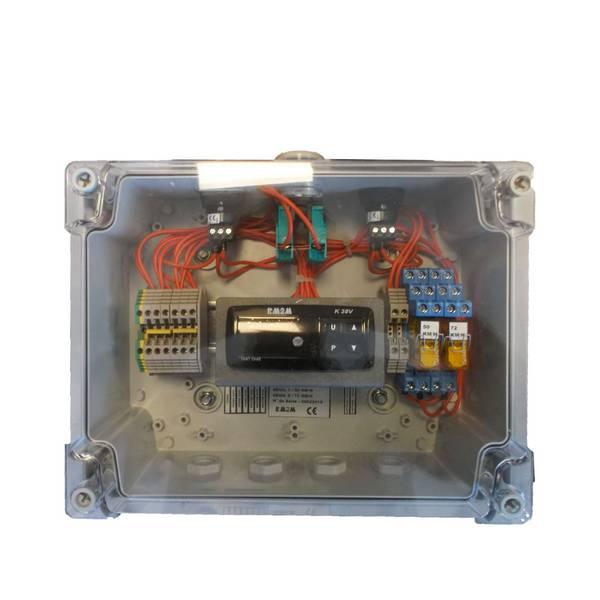 Anémomètre avec afficheur et sorties de relais • 230VAC