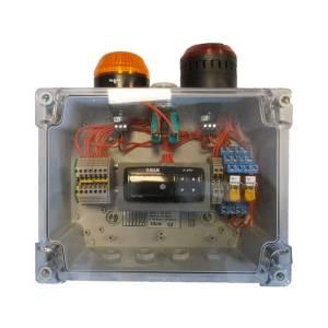 Anémomètre sonore et lumineux avec afficheur • 24VAC-VDC