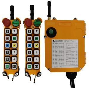 Radiocommande industrielle F24 – 12D avec 1 émetteur de secours • 11 boutons (2 crans)