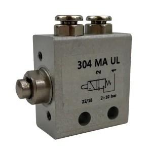 Distributeur   pneumatique 3/2 monostable NO