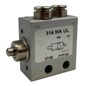 Distributeur  pneumatique 3/2 monostable NC