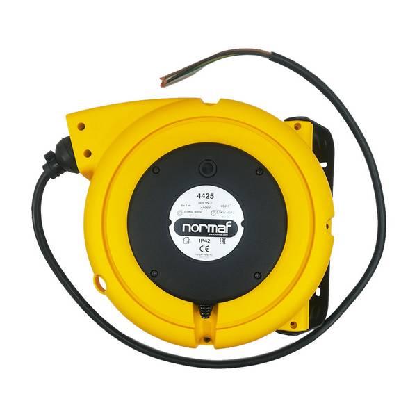 Enrouleur de câble à ressort • Câble 4G2,5 • 9m
