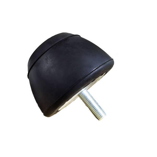 Tampon amortisseur tronconique caoutchouc Ø120/70 x 75 mm • Tige filetée M16 x 45 mm