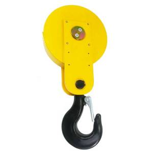 Moufle pour palan 1 réa • Charge 2 t (M5) • Pour câble Ø 8-9 mm