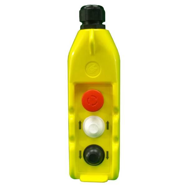 Boîte à boutons          2 boutons (2 crans) + 1 arrêt d'urgence