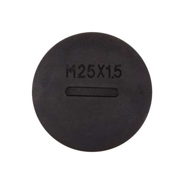 Bouchon pour presse-étoupe M25 Noir
