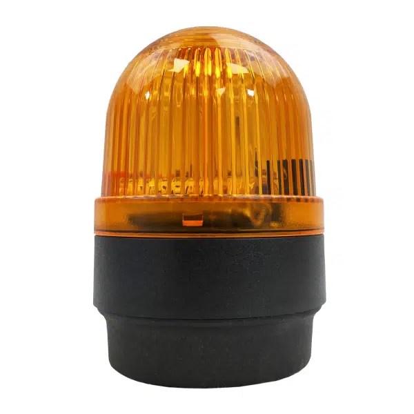 Feu flash orange au xénon pour fixation sur fond plat ou sur équerre