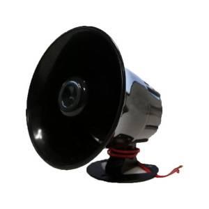 Avertisseur sonore Buzzer • son continu 2 tons 108dB • 6 à 12 VDC • sur pied