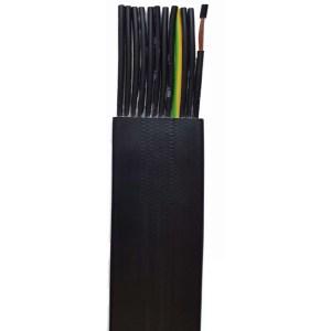 Câble    plat gaine PVC • 8G1,5 mm²
