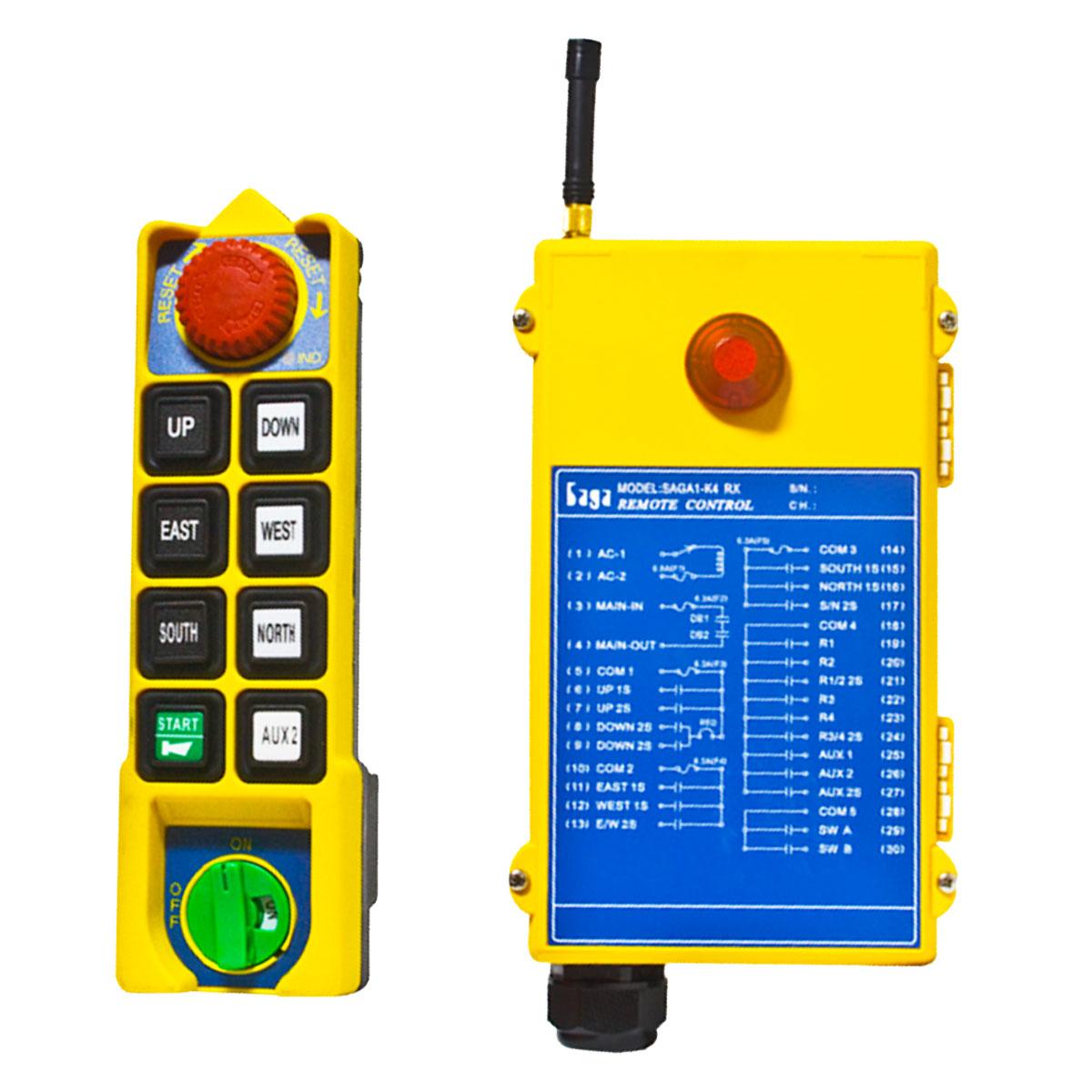 Radiocommande et récepteur Falard K1 et K2