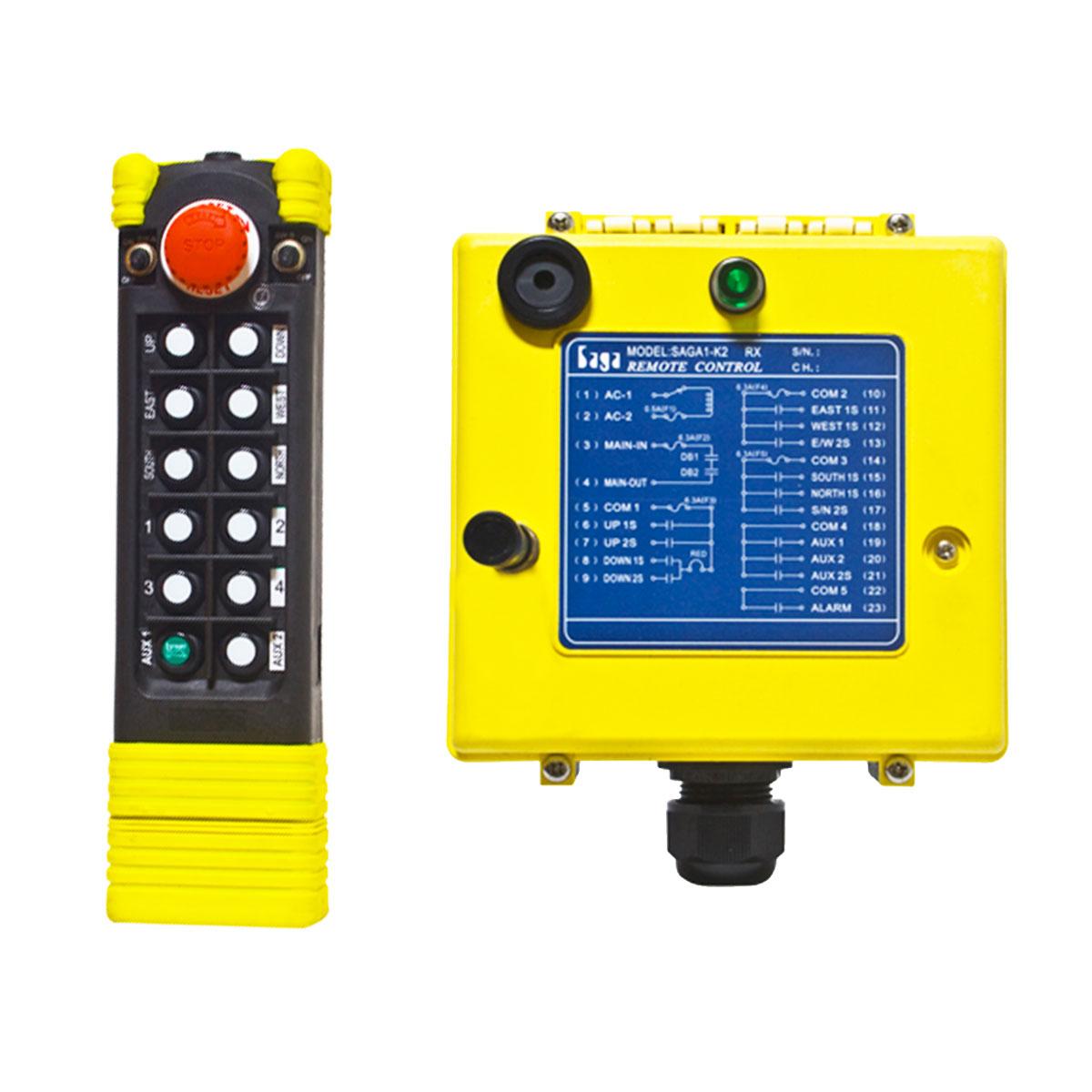 Radiocommande et récepteur Falard K3 et K4