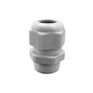 Presse étoupe en polyamide 6 • M12 • Pour câble Ø 3 à 6,5mm