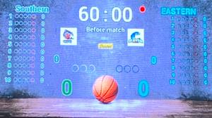 LED scoreboard display