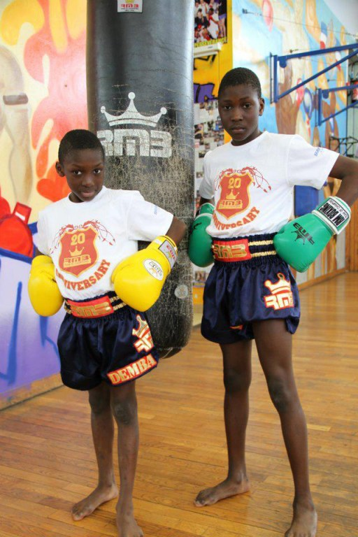 demba et bacary dembele rmboxing