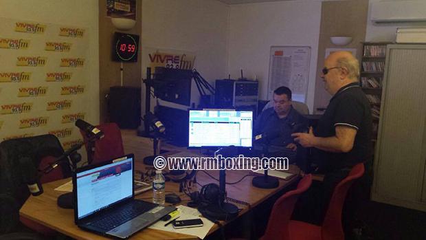 Florence Delaroche, Rachid Saadi, Zahia Gondolfo à Vivre-FM avec WFS