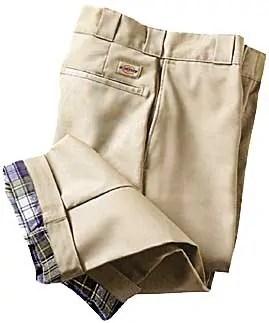 Dickies Flannel Lined Work Pant