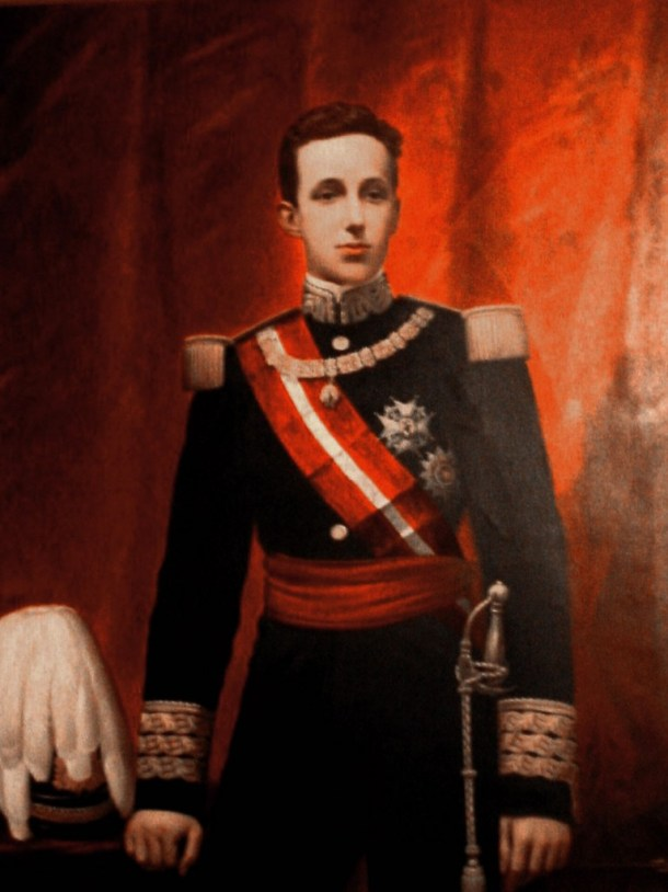 Hermano Mayor Año 1887 S.M. El Rey Don Alfonso XIII.