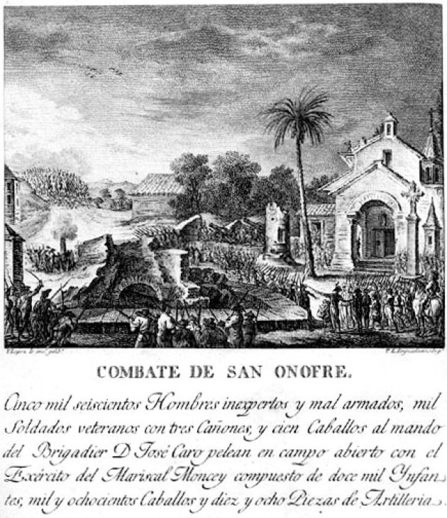 Combate de San Onofre