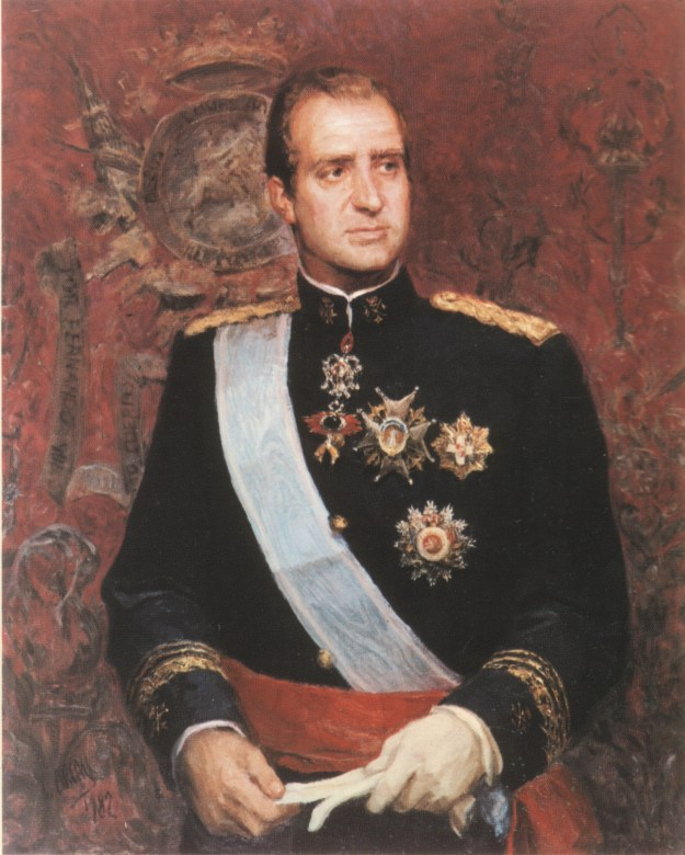 Hermano Mayor Año 1975 S.M. El Rey Don Juan Carlos I.