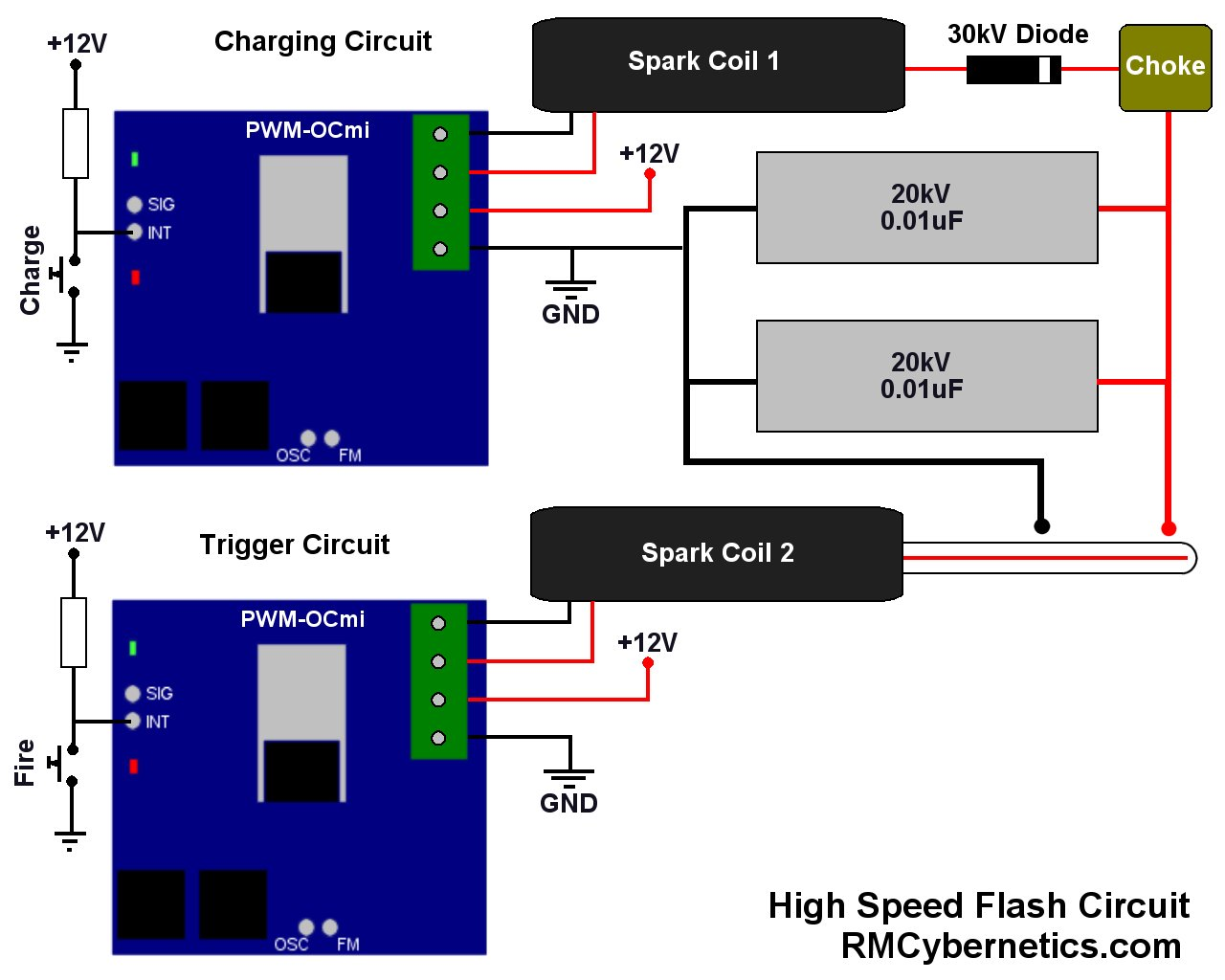hight resolution of 12 volt coil gun wiring diagram