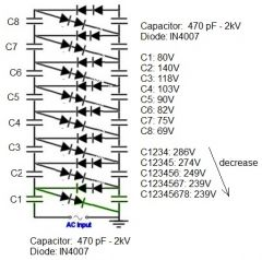 Self Switching Power Supply Circuit Power Supply Energy
