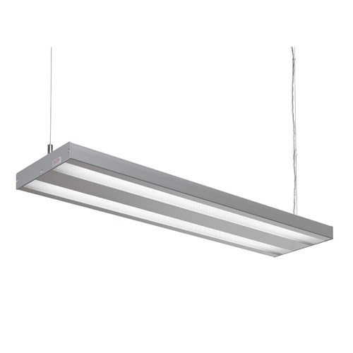 LED pendant luminaires for large-area illumination of the watchmaker's workplace