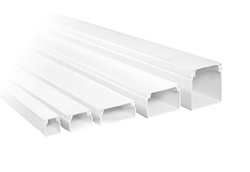 PVC Trunking  Slotted Trunking  Trunking Accessories